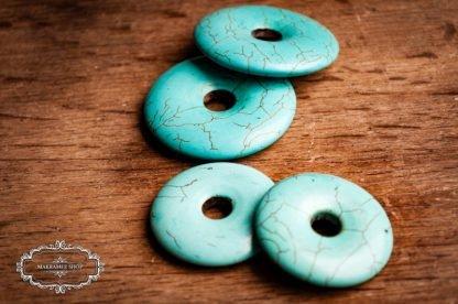 Türkis Donuts