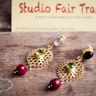 Fair trade earrings