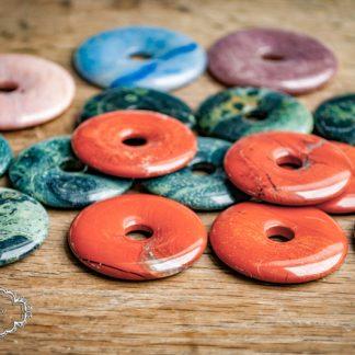 Donut-Schmucksteine