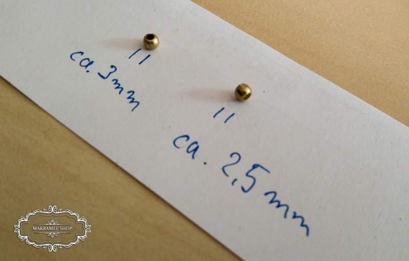 2,5 mm Messingerlen, oder doch 3,1 mm?
