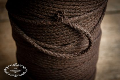Makrame yarn 4mm brown