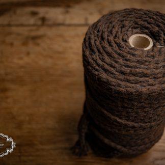 Makramee-Garn 5mm Baumwolle Braun