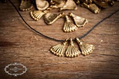 Messinganhänger SHELL / Brass Pendant