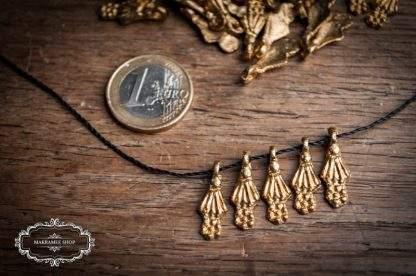 Messinganhänger SHELL klein / Brass Pendant