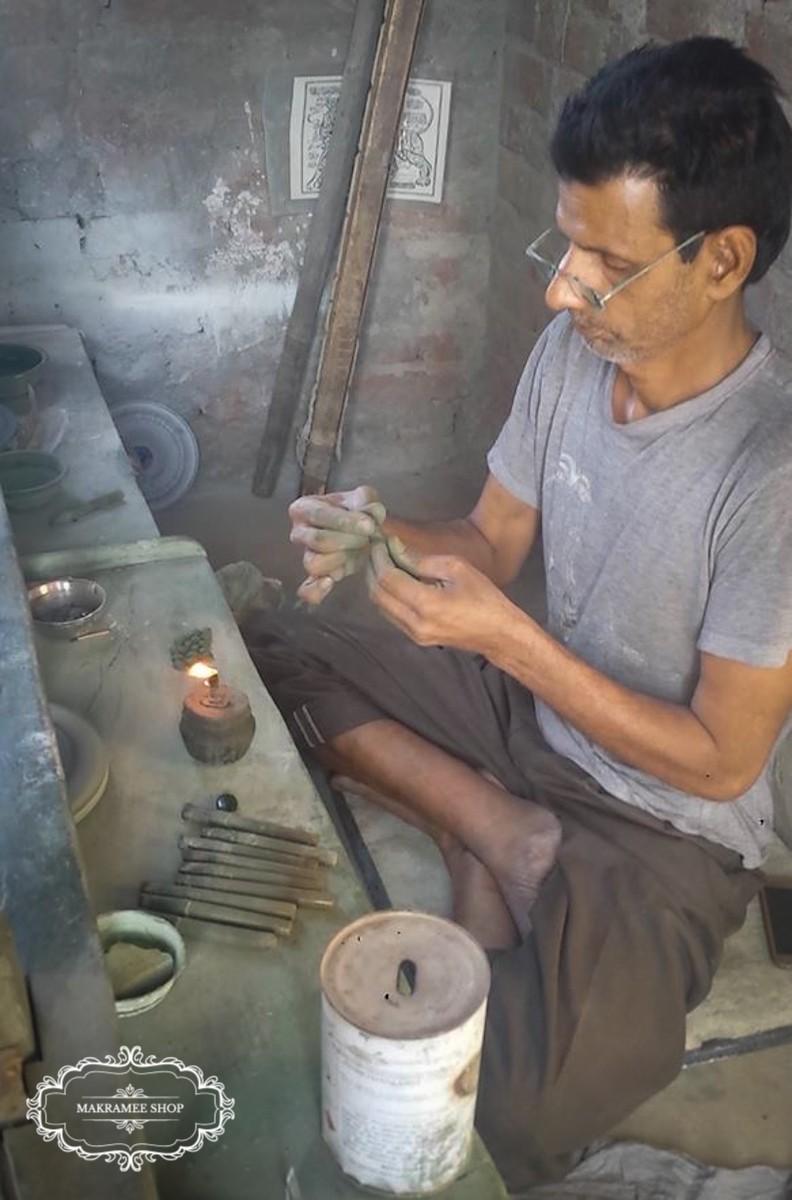 Schmucksteinherstellung in Jaipur