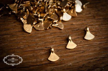 Messinganhänger Hatchet klein. Brasscharms. Brass