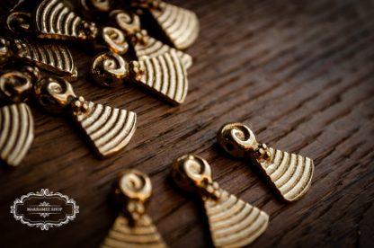 Messinganhänger TRIBAL. Brasscharms. Brass.