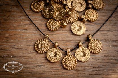 """Brass Pendant """"Schild"""" v2"""
