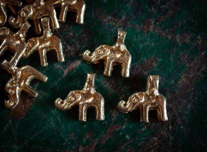Messinganhänger Elefant