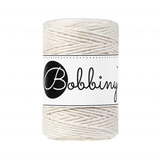 Bobbiny MakBobbiny Makrameegarn Baumwolle 1fach gezwirnt 1,5mm