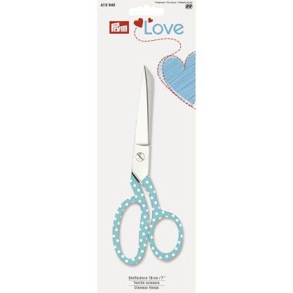 Stoffschere Prym Love Mint 18cm