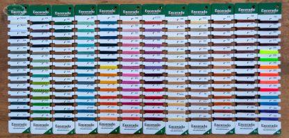 LINHASITAFarbkarte als Übersicht der meisten verfügbaren Farben.