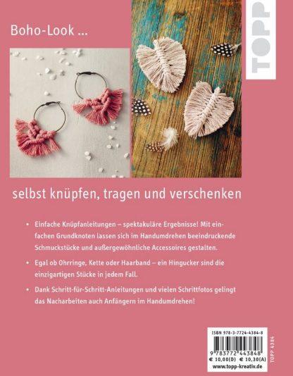 "Makramee Schmuck und Accessoires ""Blick ins Buch"""